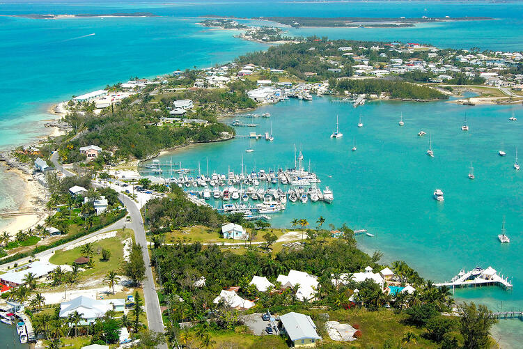 Marsh Harbour: The Biggest City Near Schooner Bay, Bahamas